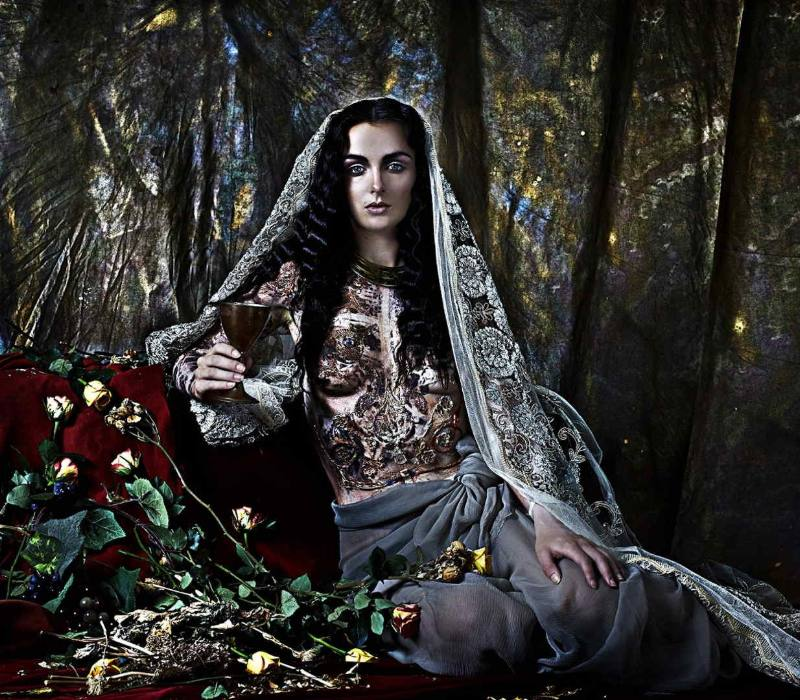 Byzantium Inspired Body Art-Makeup and Concept-photographed by Felipe Davila