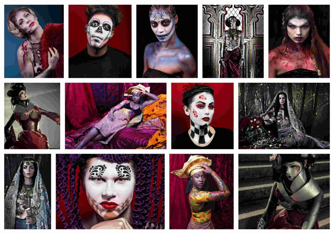 Conceptual art photography at ftphotography with makeup, hair & styling
