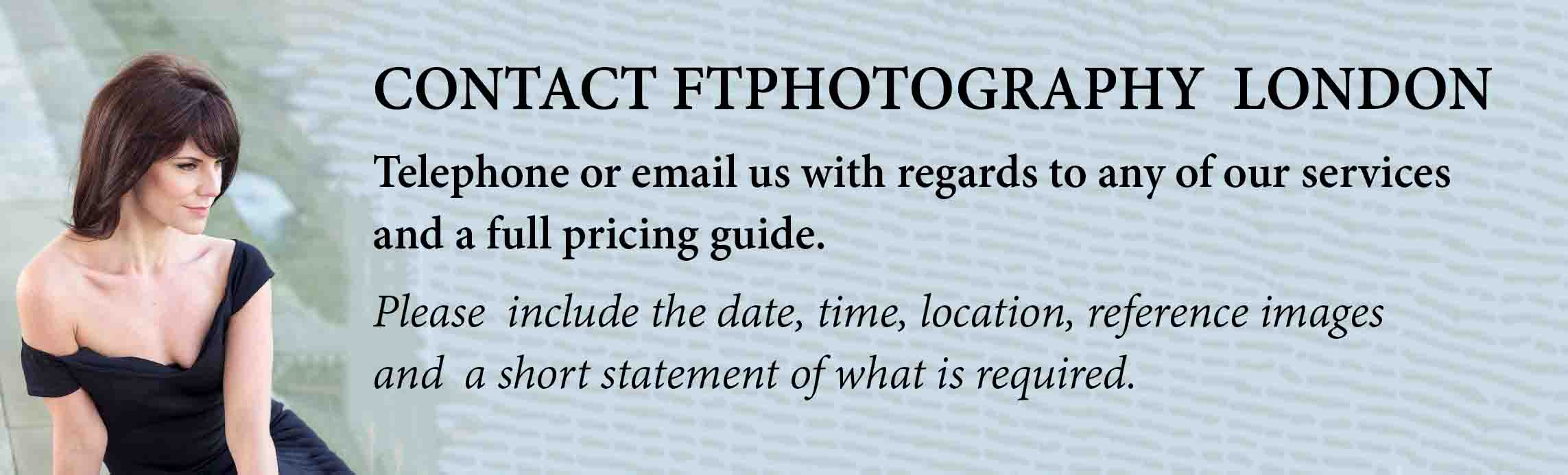 CONTACT US FTPhotography