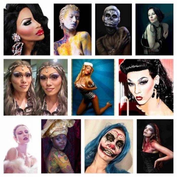Themed-drag-body art- pin up- and halloween SFX at FTPhotography
